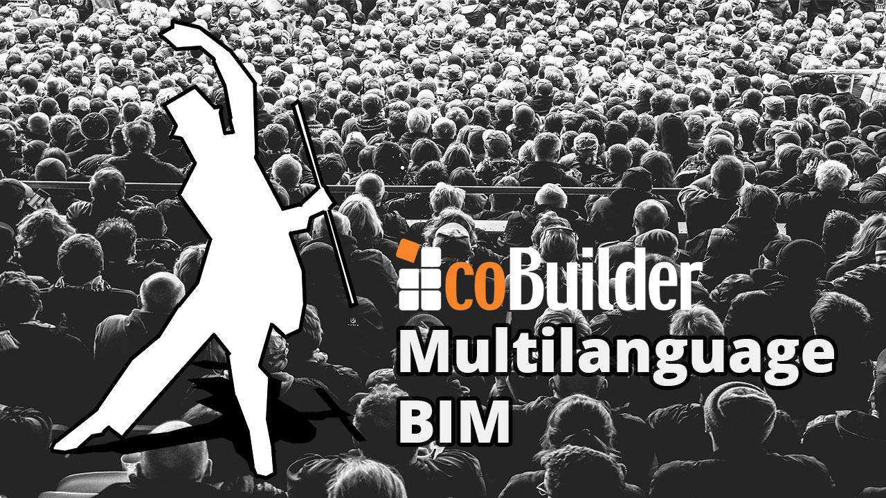 Multilanguage data in BIM