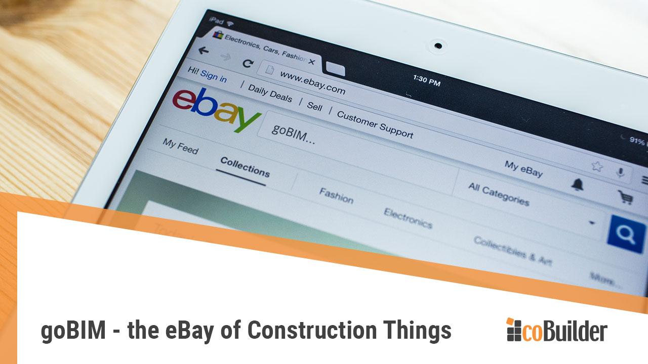 goBIM the eBay of construction things