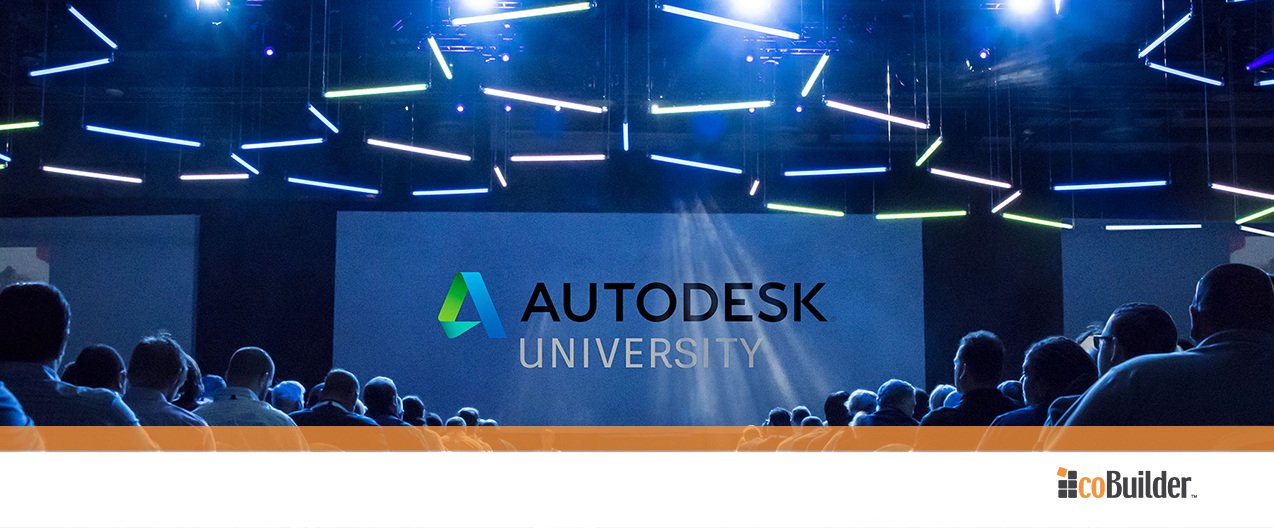 Cobuilder At Autodesk University 2017 Las Vegas Usa