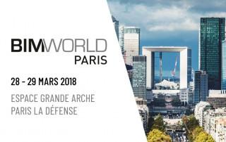 BIM World Paris 28 - 29 Mars 2018