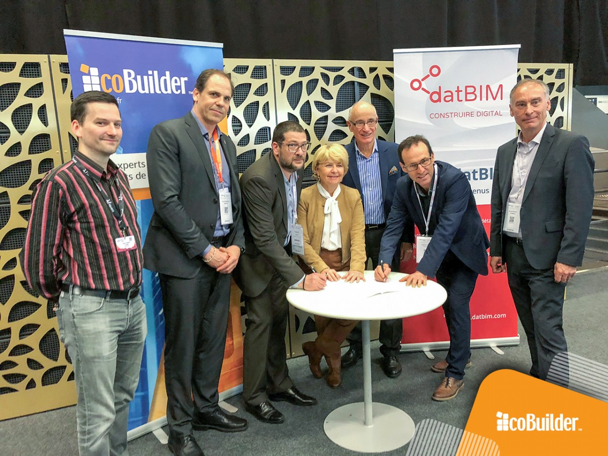 French Concrete Industry Federation signs a contract with coBuilder