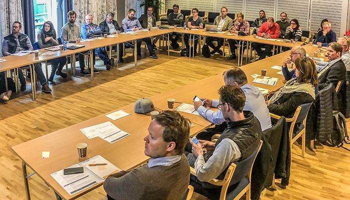 Informasjonsmøte om digitaliseringsstrategier for produsenter i byggenæringen