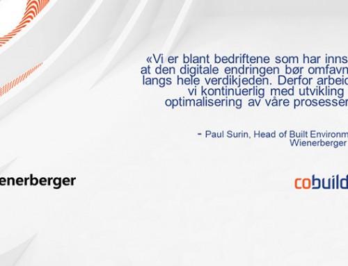 Wienerberger AG inngår strategisk avtale med Cobuilder